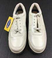 Dr Scholls Lace Up Shoes Mens 10.5 NEW Walking Leather Tan 167555 Soft Dr Ice