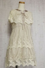 axes femme Dress Japanese Fashion Lolita Kawaii Cute Romantic Sweet Lace fabric