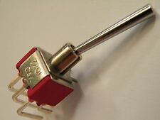 Long Dolly  Miniature Toggle Switch DPDT C&K 7201 Hobby Model Railway UK CE06