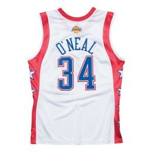 Shaquille O neal Lakers 2004 West All Star Mitchell   Ness Authentic Jersey  ... b8a9c4eca