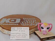 Littlest Pet Shop Pink Bunny Motion Series #3412  Authentic LPS