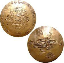 Médaille en bronze de Demarchi pour l'électrification SNCF Paris-Marseille 1962