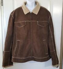 Teen Boy's Juniors Jacket Aeropostale Brown Size XL Extra Large GUC