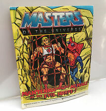 HE-MAN COMIC BOOK • MASTERS OF THE UNIVERSE • VINTAGE MATTEL BOOKLET