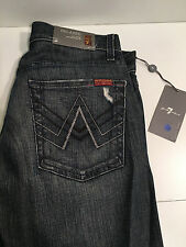Seven 7 for All Mankind MEN'S Jeans BLUE 29  x33  RELAXED MOST COMFORTABLE *NEW*