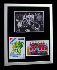 ASTON VILLA 1982 EUROPEAN CUP FINAL LTD Numbered FRAMED+EXPRESS GLOBAL SHIPPING