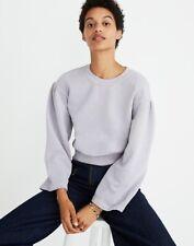 Madewell Karen Walker Garment Dyed Sweater Crewneck Sweatshirt Purple Size Large