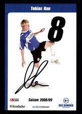 Tobias Rau Autogrammkarte Arminia Bielefeld 2008-09 Original Sign+A 107980