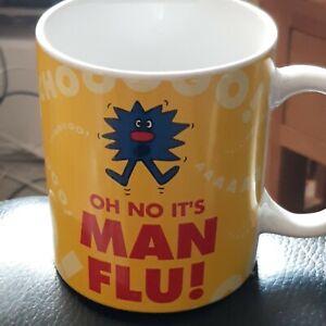 Mr Men Little Miss Oh No Its Man Flu Mug Cup