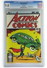 Action Comics #1 1988, CGC 9.8 (My Rare CGC Graded Comics Are Currently Listed)