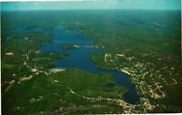 Vintage Postcard - Aerial View Of Lake Hopatcong New Jersey's Largest Lake #2915