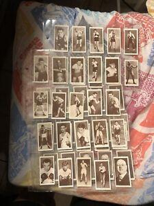 1938 churchman boxing set Complete Set 50 Joe Louis Jack Johnson Dempsey VG+
