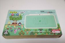 NEW Nintendo 2DS LL Animal Crossing Leaf Console Japan version amiibo Pack F/S