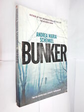 Bunker by Andrea Maria Schenkel PB novel of kidnapping