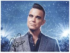 Robbie Williams SIGNED Photo PRINT First Generation No'd + Certificate / 7