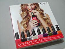 "OPI  Nail Polish ""COCA COLA SET OF 10 MINIS"" ~ NEW IN BOX!"