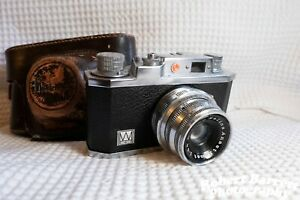 Halina 35X Compact 35mm Viewfinder Film Camera, Anastigmat 45mm f/3.5 Lens