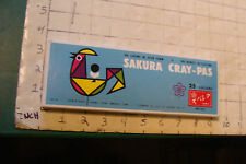 vintage Sakura Cray-Pas oil colors in stick form 23 colors in box Japan