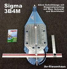 Sigma Profi Fliesenschneider 3B4M 62cm Neueste Version MAX mit Diagonalanschlag
