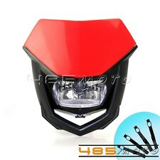 Universal Headlight For Motorcycle H4 35/35W Dirt Bike Most Powerful Headlamp