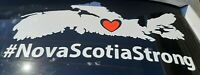 Car window decal Nova Scotia strong #nsstrong cape breton sticker