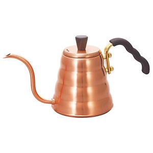 Hario Buono Coffee Drip Kettle - Copper - Open Box
