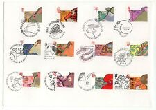 China Macau 1996 to 2007 Zodiac New Year Rat to Pig all stamp at one FDC RARE
