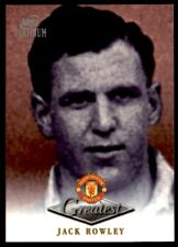 Futera Manchester United Greatest Platinum 1999 - Jack Rowley