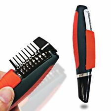 2 In 1 Mustache Male Switchblade Electric Shaver Grooming Remover Hair Trimmer