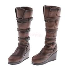1/6 Scale Woman Knee High Boots Shoes for 12inch Female Figures or Doll Toys