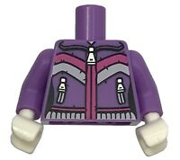 Dark Purple LEGO Skirt Cloth 6 Jagged Points Minifig