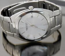 Kenneth Cole Men's Watch REACTION with Date Stainless Steel Light Blue Dial NICE