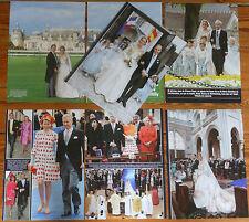 PRINCE JEAN DUKE OF VENDOME Royal Wedding 2009 France clippings photos