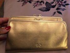 Anya Hindmarch Gold clutch bag