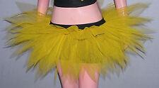 Adult Yellow Tutu Skirt 7 Layers Dance Halloween Christmas Party Dress Bumble be