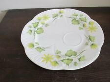 Shelley Bone China England Dainty Celandine Snack Tennis Plate 8""