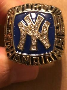 1996 DEREK JETER COMMEMORATIVE CHAMPIONSHIP RING YANKEES SIZE 13