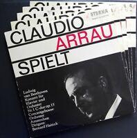 Beethoven - 5 Piano Concertos, ARRAU, HAITINK, CONCERTGEBOUW, Eterna 5 LP MONO