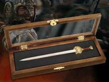 El Señor de los Anillos Abrecartas Espada del Rey Theoden 23 cm NOBLE COLLECION