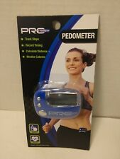 Pro Strength Fitness Pedometer w/ Belt Clip *NEW* Counts Steps & Calories