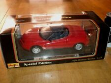 1995 ALFA ROMEO SPIDER, SPORT CAR, Die Cast Metal Model Car Toy, SCALE: 1/18