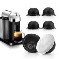 Refillable Coffee Capsules + Disposable Aluminum Foil Tool For Nespresso Vertuo