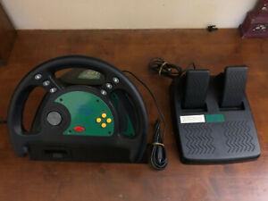Nintendo 64 Gamester Rumble Force Volante e pedali per Nintendo 64