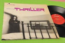 PETE RUGOLO LP FILM THRILLER ORIG OST ITALY EX+ COPERTINA CARTONATA LAMINATA !!!
