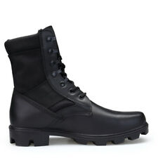 Men's Boots Jungle GI Type Black Tactical Combat Military Work Shoes Size 7-11