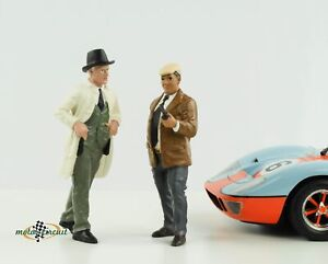Figure Race Day 2 Chef Sponsor Paddock Set Le Mans 1:18 American Diorama No Car