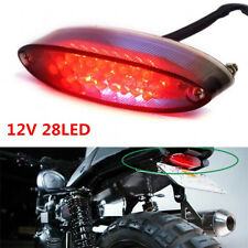 28LED Rear Stop Tail Rear Brake Light License Plate Lamp for Motorcycle Bike ATV