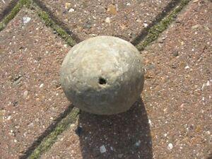 SALE Vintage Antique 2lb Lead Goose Egg PLUMB BOB 2.75ins