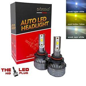 Daylead Tricolor H11 H8 h9 LED headlight Kit Cree CSP 5in1 3K 4K 6K (flashing)