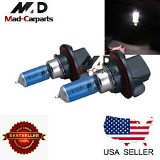 H13 100w Halogen Xenon Headlight Replacement 2x Light Bulb Lamp 6000K White